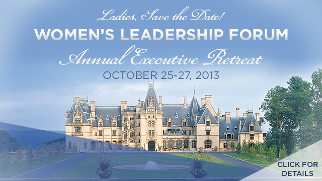 2013 Women's Leadership Forum Annual Retreat